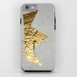 Gold Crown iPhone Case