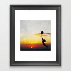 Hold Tight Framed Art Print