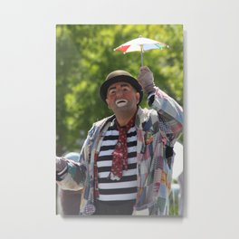 Clown for a Day Metal Print