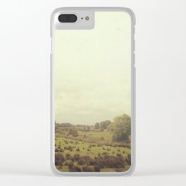 Road Trip Across the Irish Countryside Clear iPhone Case