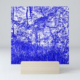 The Blue Forest Mini Art Print