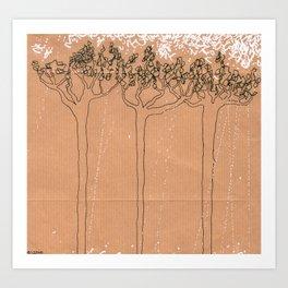 Crying Trees Art Print