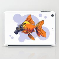 breathe iPad Cases featuring Breathe by rob art   simple