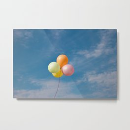 Baloons Metal Print