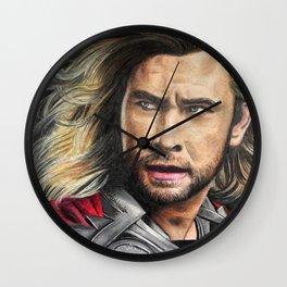 Thor fan art Wall Clock