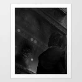 A Moment to Reflect Art Print