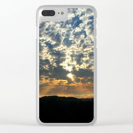 Remnants of a Storm Clear iPhone Case