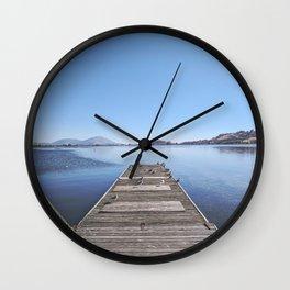 Closed Dock Wall Clock