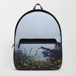 Floral Coast at Dusk Backpack
