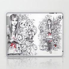 wonderland shattered Laptop & iPad Skin