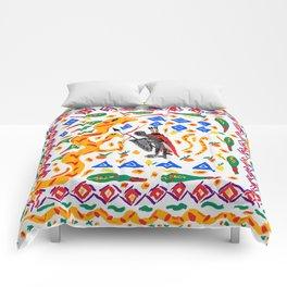 traditional Sicilian design folklore Comforters