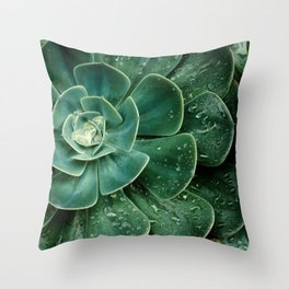 Chlorophyll Throw Pillow
