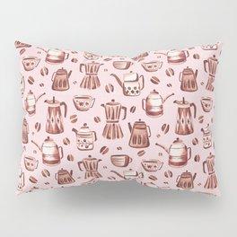 Percolator Pink Pillow Sham
