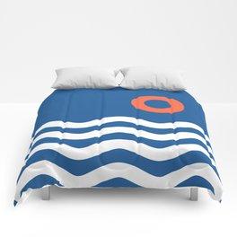 Nautical 03 Seascape Comforters