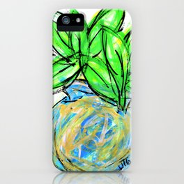 """""""Life In A Blue Vase"""" iPhone Case"""
