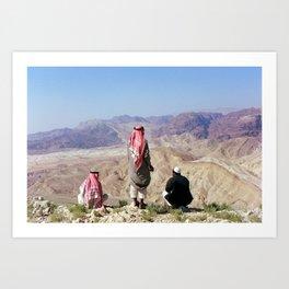 Bedouins Art Print