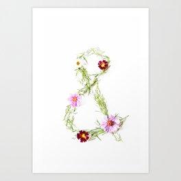 flowers& Art Print