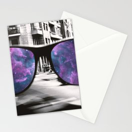 Through the glass Stationery Cards