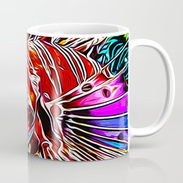 lionfish vector art Coffee Mug