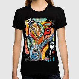 Graffiti Street Art Le Monde Tarot by Emmanuel Signorino   T-shirt