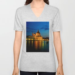 Italy. Venice celebration Unisex V-Neck