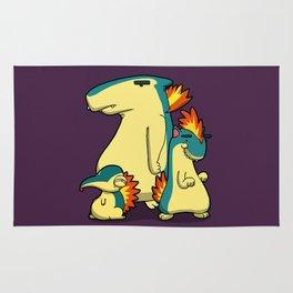 Pokémon - Number 155, 156 & 157 Rug