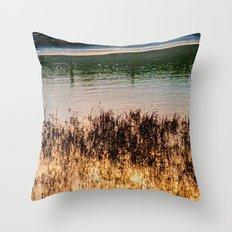 POND LIGHT Throw Pillow