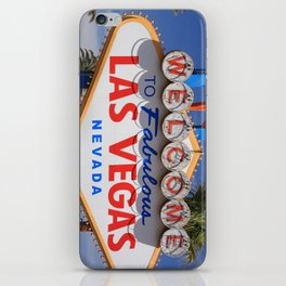 Welcome to Las Vegas iPhone Skin