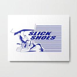 Slick Shoes (Alt 1) Metal Print