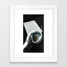 Galaxy Cup Framed Art Print