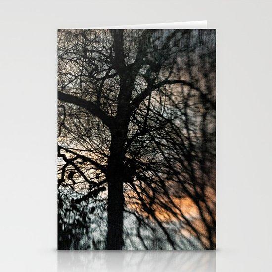 Bleak Winter Sunset Stationery Cards