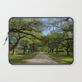 The Avenue of Oaks Laptop Sleeve