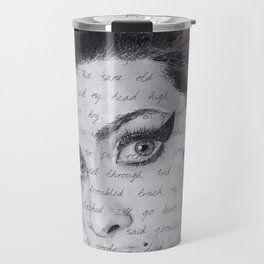 Back to Black Travel Mug