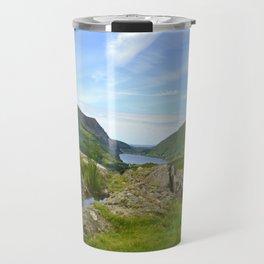 Mynydd Mawr and Foel Goch from Rhyd Ddu path on Snowdon Travel Mug