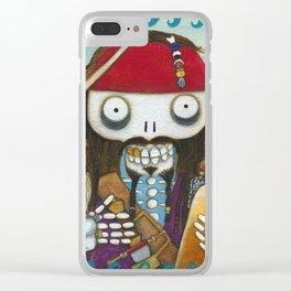 Captain Jacque Clear iPhone Case