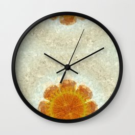 Epexegetic Pie In The Sky Flower  ID:16165-011115-17420 Wall Clock