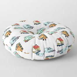 Home Bodies pattern Floor Pillow