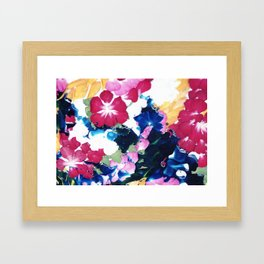 Colour memories Framed Art Print