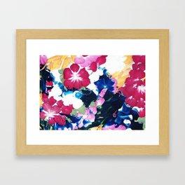 Colour memories Framed Art Print