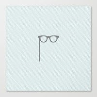glasses Canvas Prints featuring Glasses by Mr & Mrs Quirynen