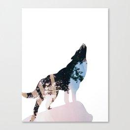 Wolf. Canvas Print