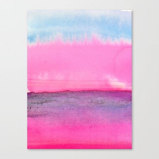 Abstract Landscape 90 Canvas Print