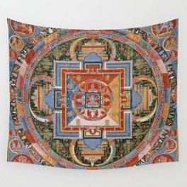 Mandala of Jnanadakini Wall Tapestry
