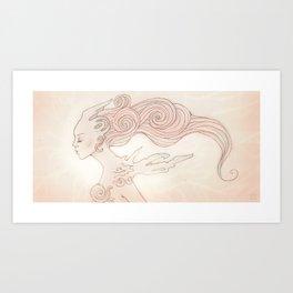 Alien Queen Art Print