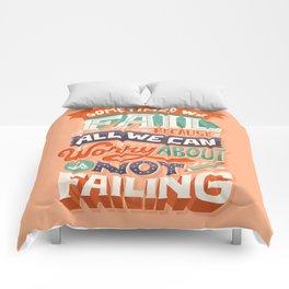 Fear of Failure Comforters