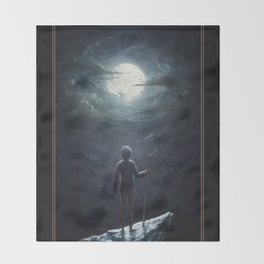 Jack Frost Throw Blanket