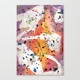 splatter Canvas Print