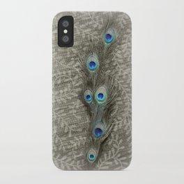 Peacock Summer iPhone Case