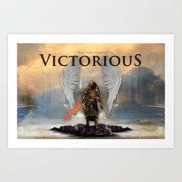 VICTORIOUS DAVID MUNOZ ART Art Print