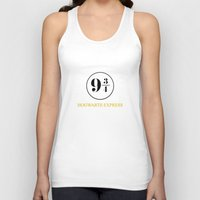 hogwarts Tank Tops featuring Hogwarts Express by kattie flynn
